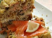 Cake saumon muesli (scandinave)