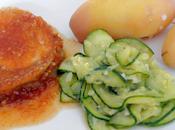 Rôti porc caramélisé miel vinaigre poivron