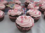Cupcakes girly chocolat}