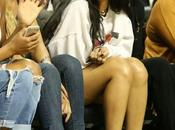 Rihanna Summer Classic Charity Basketball Game Angeles 22.08.2014
