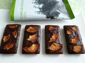 brownies diététiques hyperprotéinés chocolat noisette pommes séchées (sans sucre sans beurre)
