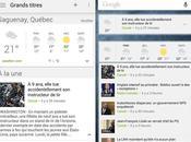 Laissée l'abandon, l'app Android Google Actualités météo renouvelle