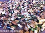 Plancha légumes moutarde provençale