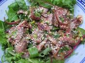 Nahm Dtok Salade bœuf grillé Grilled beef salad