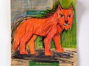 """""""Loup rouge"""" dessin papier Salons Bio."""