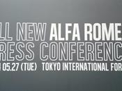 Retour campagne want Alfa Romeo Japon Conférence presse