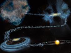 D'où vient l'eau notre système solaire
