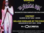 Octobre 2014 l'Olympia, découvrez redécouvrez l'univers originel GENESIS Musical