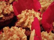 Cupcakes Pralin chocolat noir crème Moka