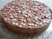 Cheesecake chocolat lait sans cuisson