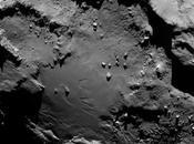 Rosetta gros plan rocher Cheops surface comète