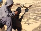 Talent suivre Jordan Mang-osan dessins brûlés lumière soleil