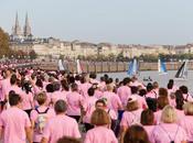 Reportage Photo monde quais week-end avec challenge Ruban rose d'Octobre Bordeaux Cata Raid