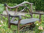 formes bancs bois métal