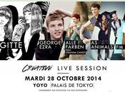 Gagne places pour prochaine Creative Live Session organisée Virgin Radio avec Brigitte, George Ezra, Animals, Laeti Alle Farben