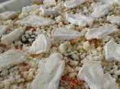 Quiche gratinée Légumes, Tofu soyeux Colombo (sans oeuf)