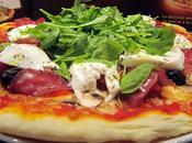 pizza soir avec pâte levain chez CROUSTIPATE