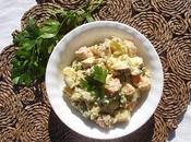 Salade russe végétalienne