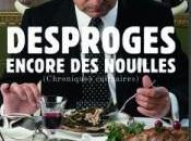 chroniques culinaires Pierre Desproges