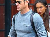 STYLE Justin Theroux wearing Acne Studios wool sweater