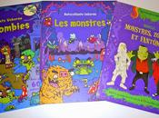 Halloween dessine, colle, colorie! Habille Monstres, zombies fantômes Autocollants monstres