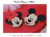 Biscuits décorés Minnie Mickey