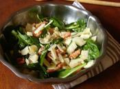Salade d'épinard fenouil l'orange parmesan