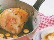 Rognon veau braisé baies genièvre, gratin dauphinois