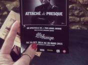 Allez voir #AttachéDePresque théâtre Feux Rampe Paris, #LionelAknine fait expérience dans musique spectacle fort sympathique découvrir vendredis samedis soirs jusqu'au mars 2015