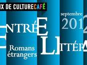 Rentrée littéraire septembre 2012, romans étrangers choisis Culture Café