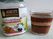 yaourts maison avec Nutrichoco Nutristévia psyllium (sans sucre)