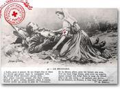 Quand vicomte guerrier poète faisait chantre brassard Croix-Rouge