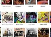 Arts, tableaux exposés