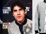 STYLE Darren Criss, wearing Topman bomber Oughta Know Live Concert