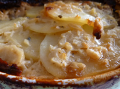 Gratin pommes terre Roquefort