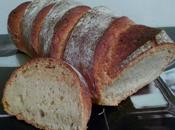 Pain blanc levain fermentescible