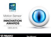 Détecteur mouvement FIBARO remporte trophée l'Innovation 2015!