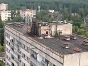 drone survole villes fantômes Pripyat Tchernobyl