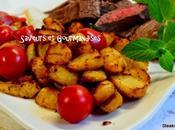 Steaks/frites tubéreuses.
