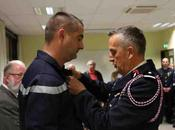 l'Adjudant Olivier BOUGRAT l'honneur