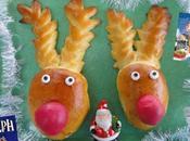 Brioche Rudolph petit renne rouge