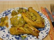Lapin curcuma olives