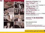 Fête nationale Tango Museo Casa Carlos Gardel l'affiche]