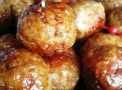 Tsukune, boulettes japonaises tablette Qooq/Tsukune, japanese chicken meatballs Qooq tablet