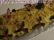 Bûche Noël vanille krisch