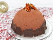 Bombe glacée chocolat, érable noix pécan caramélisée