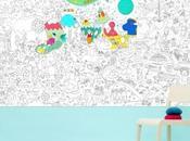 L'idée cadeau déco Noël coloriage géant pour petits grands