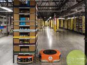 Amazon recrute armée robots pour Noel