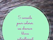 conseils pour colorer cheveux blancs naturellement
