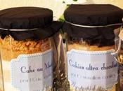 Idée cadeau: Cake muesli cookies chocolat bocal